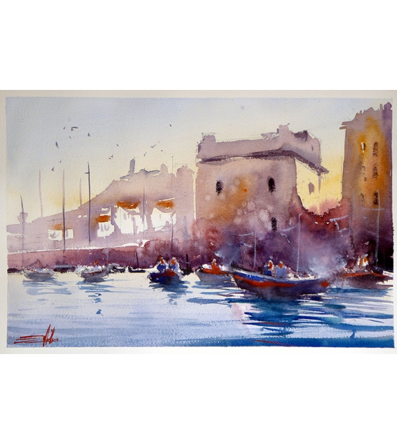 Simone De Marco Marina torre di Carlo V