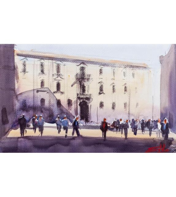 Simone De Marco Il seminario (piazza Don Minzoni)
