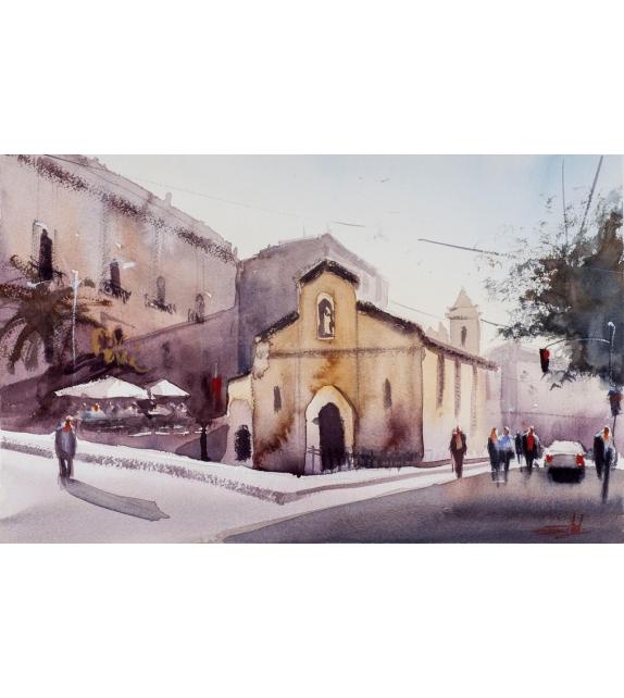 Simone De Marco San Calogero square