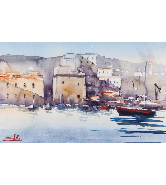 Simone De marco The harbor, the tower, the sea